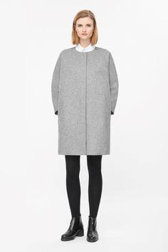 COS | Curved seam wool coat