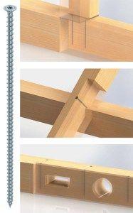 Nouveaux produits bâtiments : Les vis HECO-TOPIX Filetage total conçues pour les fortes contraintes dans la construction bois