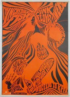 The Incredible Fish / Pink Floyd Handbill, Fillmore Auditorium (San Francisco, CA) Oct 30, 1967