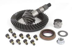 Ring and Pinion, 4.10 Ratio; 07-16 Wrangler JK, for Dana 44 - Crawltech Offroad