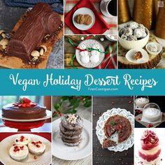 Vegan Holiday Dessert Recipes. FranCostigan.com