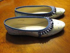 A Sartorial Statement: Regency Slippers From Modern Ballet Flats