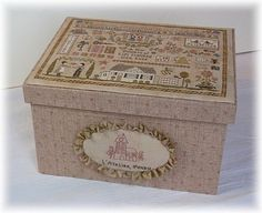 boite atelier perdu 1 1.  Wonderful idea for finishing a box!