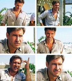 Indiana Jones... my first real crush.   Intelligent, quick witted, handsome…