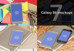 7 Samsung Galaxy S6 mockups
