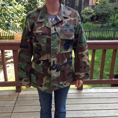 This is an great #VINTAGE space command US Air Force camouflage field jacket (blouse) with patches.    The jacket belonged to a .  Lieutenant Colonel, Master Missile Operati... #etsysale #shopsmall #vintageshop #vintagelife #vintagelover #vintage #collectibles