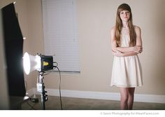 Off-Camera Lighting Tips- I Heart Faces Home Studio Photography, Photography Business, Light Photography, Photography Tips, Indoor Photography, Photography Composition, Portrait Photography, Studio Lighting Setups, Studio Setup