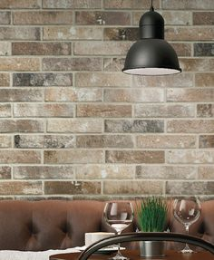 BRICK by GIO. #walltile #commercial #tile #interior #design (Can be used on floors.)
