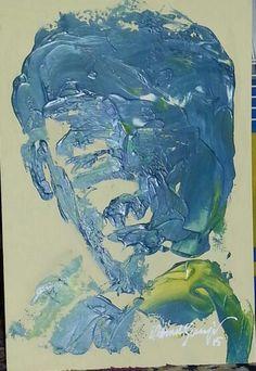 Acrylic painting mahmut benneyim