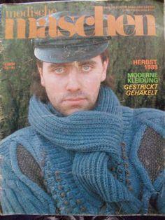 Modische maschen - német kötős újság 1989