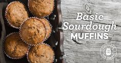 The Basic Sourdough Muffin Recipe - Cultures for Health