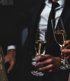 """Robin} The white haired girl heads over towards Sterling, she was excused but happy that everything had come together. """"I have a feeling you might want a drink."""" She holds up to flutes of champagne."""