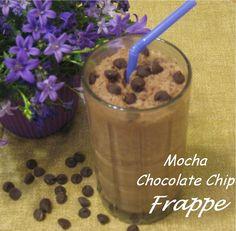 CREATIVE TRAVEL MUGS BLOG: Mocha Chocolate Chip Frappe