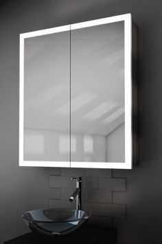 Superb Order Your Varma Edge Cabinet Mirrors From Illuminated Mirrors UK And Enjoy  Free Next Day Delivery And A Year Warranty On Our Entire Range.