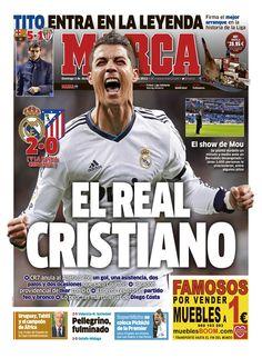 'El Real Cristiano' / Portada del 2 de Diciembre de 2012