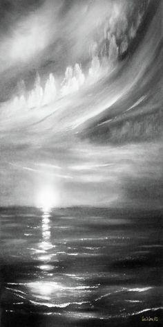 here-it-goes-vertical-sunset-in-black-and-white-gina-de-gorna.jpg (350×700)