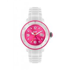 Ice-Watch Unisex White and Pink Watch