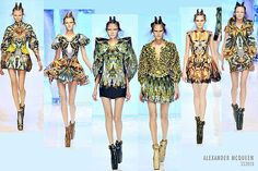 """Alexander McQueen's extraordinary SS 2010 Plato's Atlantis collection. His chilling vision for the future: """"When Charles Darwin wrote The Origin Of The Species, no one could have known that the ice cap would melt, that the waters would rise and that life on earth would have to evolve in order to live beneath the sea once more or perish. We came from water and now, with the help of stem cell technology and cloning, we must go back to it to survive."""""""