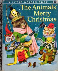 The Animals' Merry Christmas, Illustrations by Richard Scarry, 1950