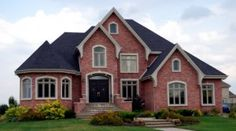 nice brick home Sell Your House Fast, Selling Your House, Brick Veneer Siding, Future House, My House, Ideal House, How To Install Gutters, We Buy Houses, Brick Colors