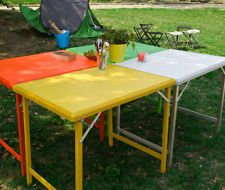 Aluminium Picnic Camping Folding Table, Outdoor Party Banquet Table, 8829-T UK