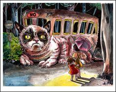Grumpy Cat School Bus sketch