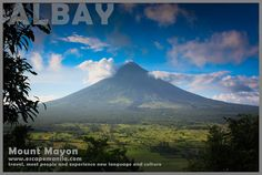 Day 13 of : Staring at the Majestic Mount Mayon from Ligñon Hill in Legazpi, Albay ~ Escape Manila Manila, The Province, Mount Rainier, Travel Guide, Culture, Mountains, Day, Travel Guide Books, Bergen