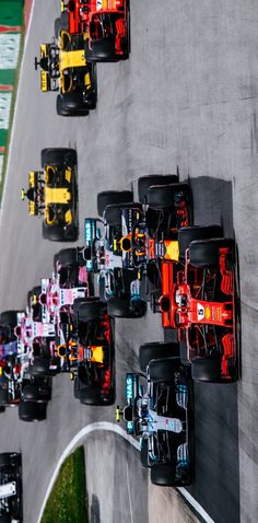 2018/6/12: Twitter: @sebvettelnews : For the 14th time in his career, Vettel led a grand prix from start to finish. In this count, he is ahead of Jim Clark and Hamilton (13 races each), but behind Senna (19 races). #CanadianGP #VettelStats