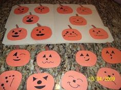 diy halloween crafts diy preschool file folders - Halloween File Folder Games
