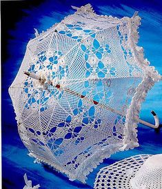 crochet parasol- site has a lot of free patterns. They are from all over the…