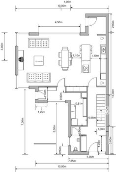12 Popular Kitchen Layout Design Ideas  Bakery thoughts