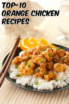 Top-10 Orange Chicken Recipes - RecipePorn