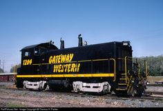 RailPictures.Net Photo: GWWR 1204 Gateway Western Railway EMD SW1200 at Kansas City, Missouri by Thomas H. Parker