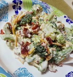 Dawn Bailey saved to Keto & Low-Carb Information & Broccoli Salad Recipe - Crafty Morning 6 Mouth Watering Keto Friendly Dinner Salad Recipes Salad Recipes Low Carb, Salad Recipes For Dinner, Dinner Salads, Diet Recipes, Cooking Recipes, Healthy Recipes, Low Carb Broccoli Salad, Protein Recipes, Recipies