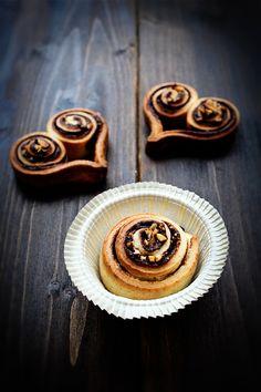 Süße Herzchen mit Nutella