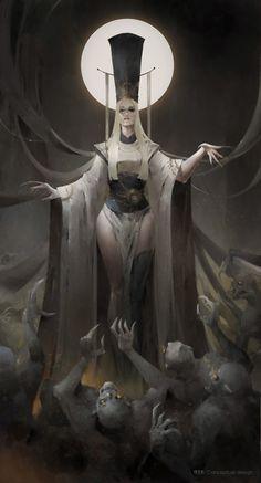 57 Trendy Ideas For Dark Art Fantasy Goddesses Demons Dark Fantasy Art, Fantasy Artwork, Fantasy Kunst, Dark Art, Demon Artwork, Anime Fantasy, Sci Fi Fantasy, Fantasy Character Design, Character Design Inspiration