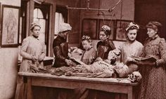 Women's Medical College of Pennsylvania, Philadelphia, Dissection: Photographs of a rite of passage in American Medicine: by John Harley Warner and James M. Old Pictures, Old Photos, Antique Pictures, Rare Photos, Vintage Photographs, Vintage Photos, Post Mortem, Vintage Nurse, Medical College