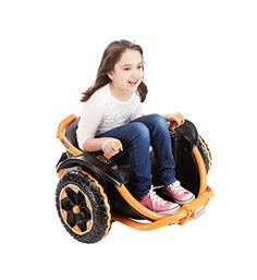 Fisher-Price Power Wheels Wild Thing Ride On. Dual joysticks control steering in forward and reverse - and 360° spinning around and around. Drives 5 mph max. Forward; 2.5 mph max. Reverse. 4 Parent-Controlled speed settings (under the seat) make it easy for kids to master the controls. toys4mykids.com