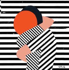 Get it on. The effectiveness of simple lines & shapes: it's all in how you use them. Secret  - Paul Thurlby