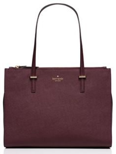 cedar street jensen - kate spade new york  Yes please. Love the color for fall/winter and the double zip. NEED. NOW.