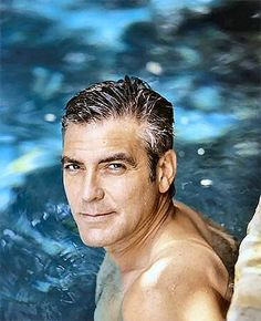 George (Timothy) Clooney - American Actor, Film Director, Film Producer and Screenwriter (born 6 May 1961).