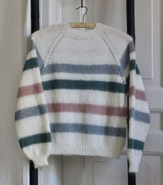 Pullover, Knitting, Creative, Sweaters, Tops, Fashion, Sailor, Olive Tree, Sock Knitting