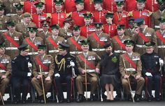 Err, who farted?? St Patrick's Day parade starring the Duke and Duchess of Cambridge