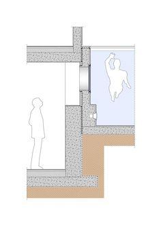 Rooftop Swimming Pool Diagram Section Diagrams Drawings Models Pinterest Swimming Pool