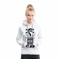 Single Outfit - Wanna Hook Up?  Du suchst Outfits mit passenden Sprüchen für jede Gelegenheit? Wir haben viele Ideen für dich! Shirt Designs, Baby Kind, Up, Shirts, Hoodies, Sweaters, Outfits, Fashion, Puns