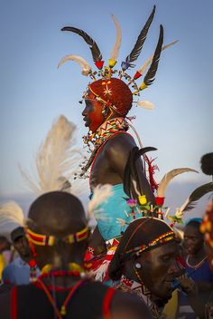 Samburu warrior jumping Kenya by Eric Lafforgue on Flickr.