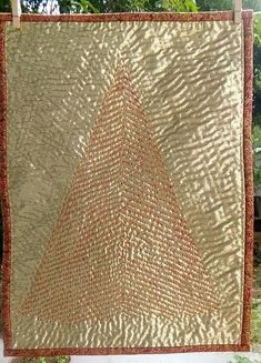 Kantha Stitch, Christmas Tree, Quilts, Teal Christmas Tree, Quilt Sets, Xmas Trees, Christmas Trees, Log Cabin Quilts, Quilting