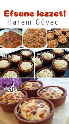 Harem Casserole Recipe How? Harem people in casserole recipe book illustrated description and photographs of attempting here. Turkish Recipes, Italian Recipes, Tasty, Yummy Food, Homemade Beauty Products, Turkish Sweets, Casserole Recipes, Family Meals, Fresh Fruits And Vegetables
