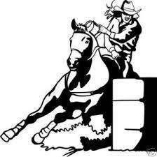 Clip Art Barrel Racing Clip Art barrel racer clip art free racing vinyl cut decal 3 barrels 2 hearts 1 passion god i miss western clipwestern rodeobarrel racing