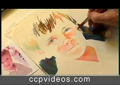 The Watercolor Portrait with Jane Paul Angelhart